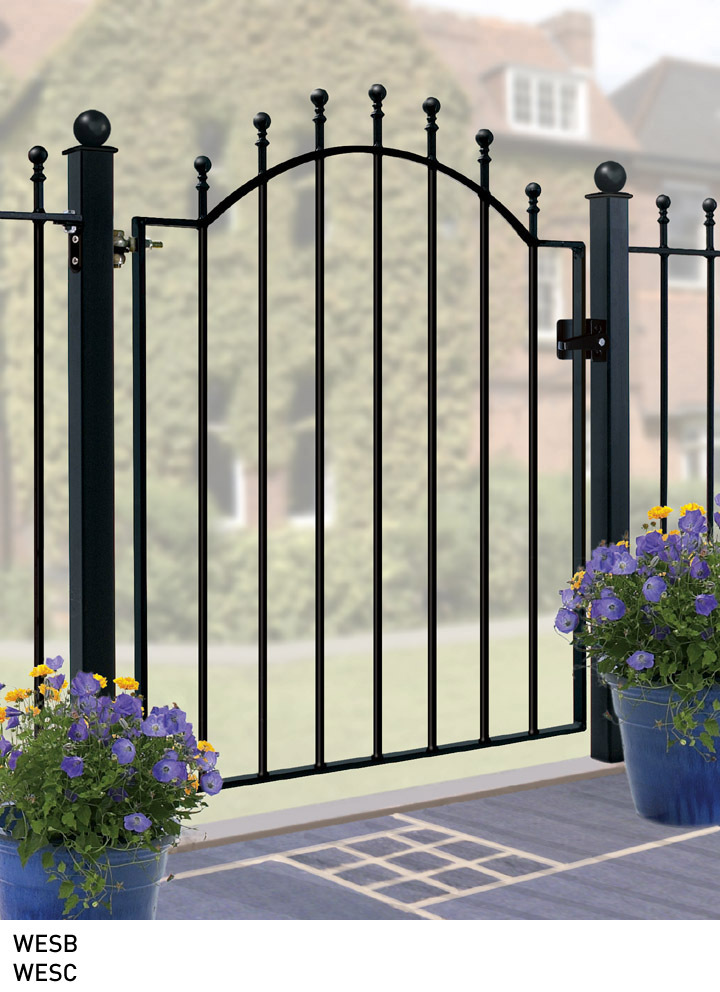 Metal garden gates cheap wrought iron for