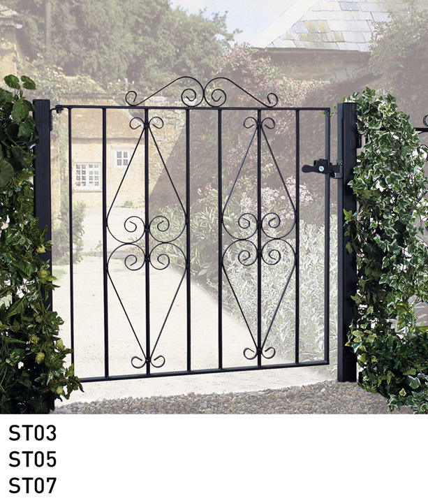 Stirling Metal Garden Gate