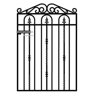 Windsor Wrought Iron Style Garden Gate