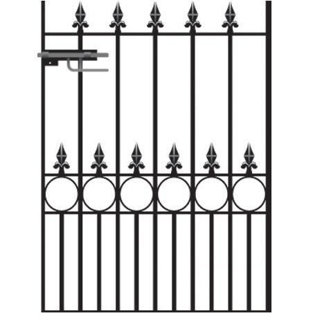 Royal Talisman Wrought Iron Style Garden Gate