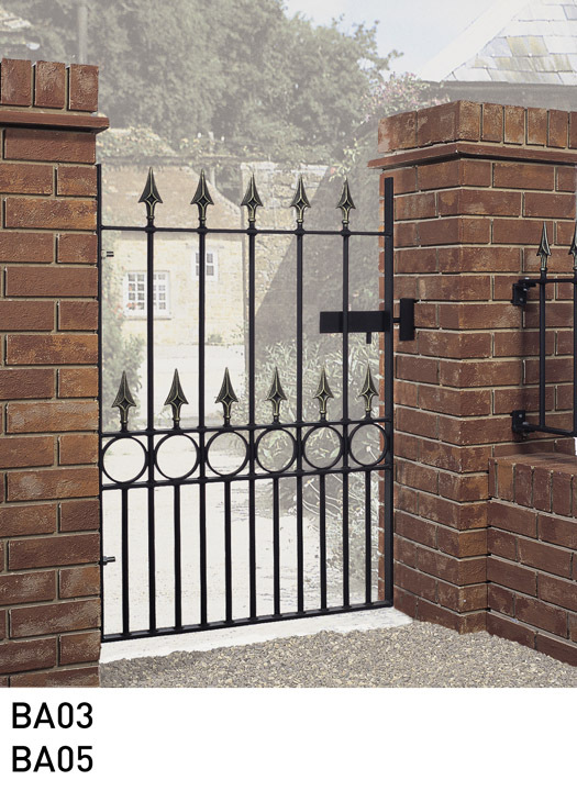 Balmoral Wrought Iron Style Garden Gate