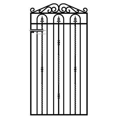 Windsor Wrought Iron Style Side Gate