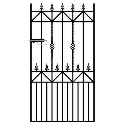 Royal Ascot Wrought Iron Style Side Gate