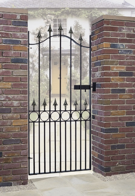 Balmoral Wrought Iron Style Side Gate
