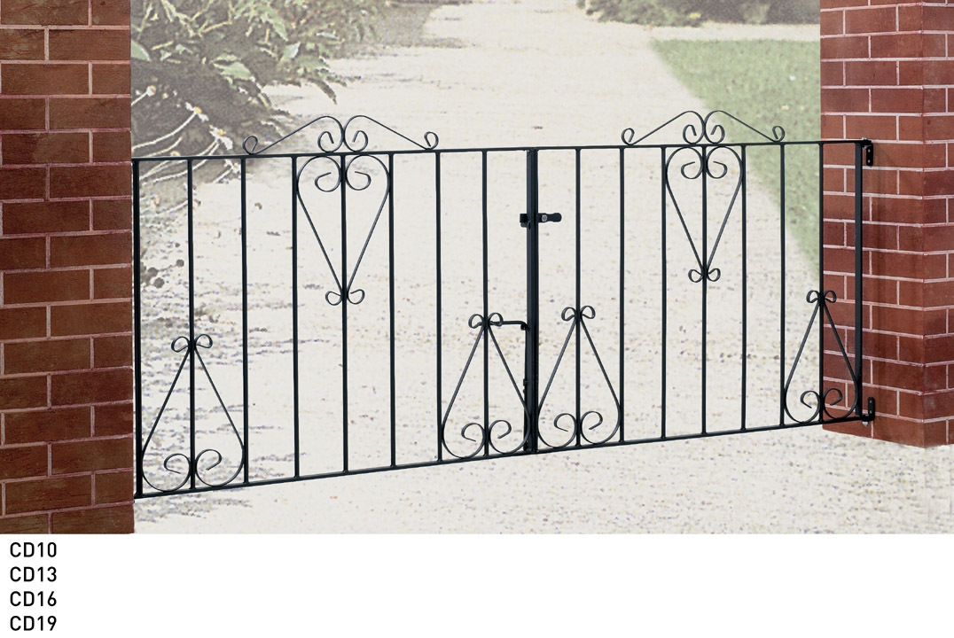 Buy metal driveway gates many sizes for sale cheap uk for Aluminum driveway gates prices