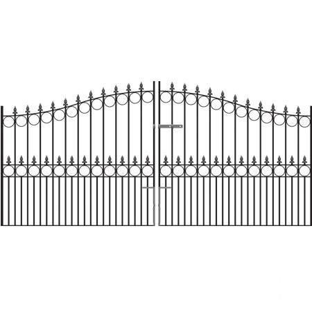 Royal Talisman Tall Arched Drive Gates