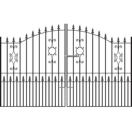 Royal Grange Tall Wrought Iron Driveway Gates