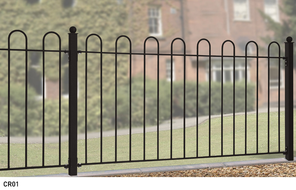 Metal Fencing Amp Wrought Iron Style Fence Panels Garden