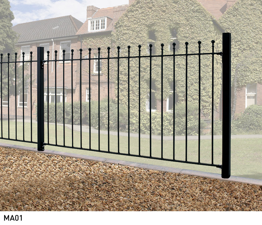 Manor Metal Fencing - 1220mm (h)