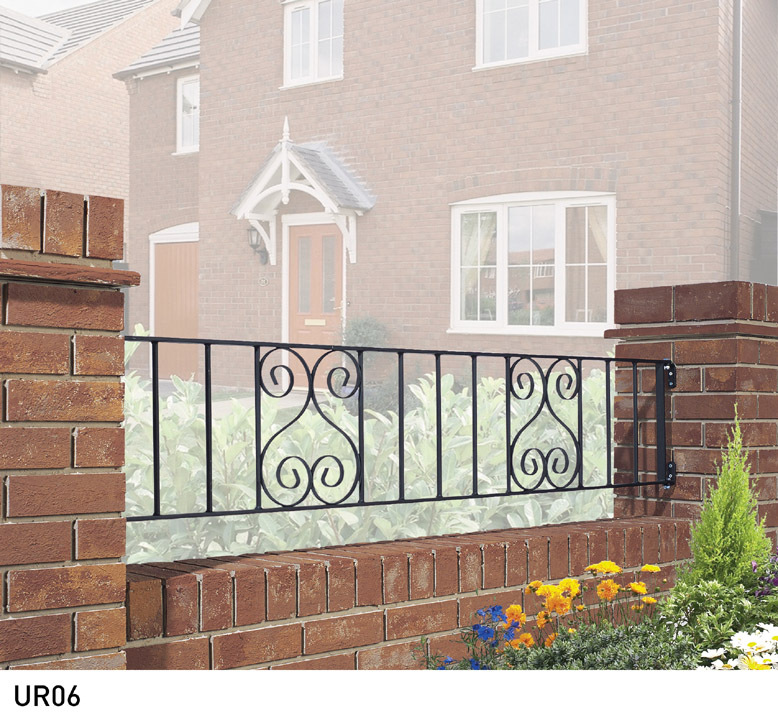Classic Metal Railings