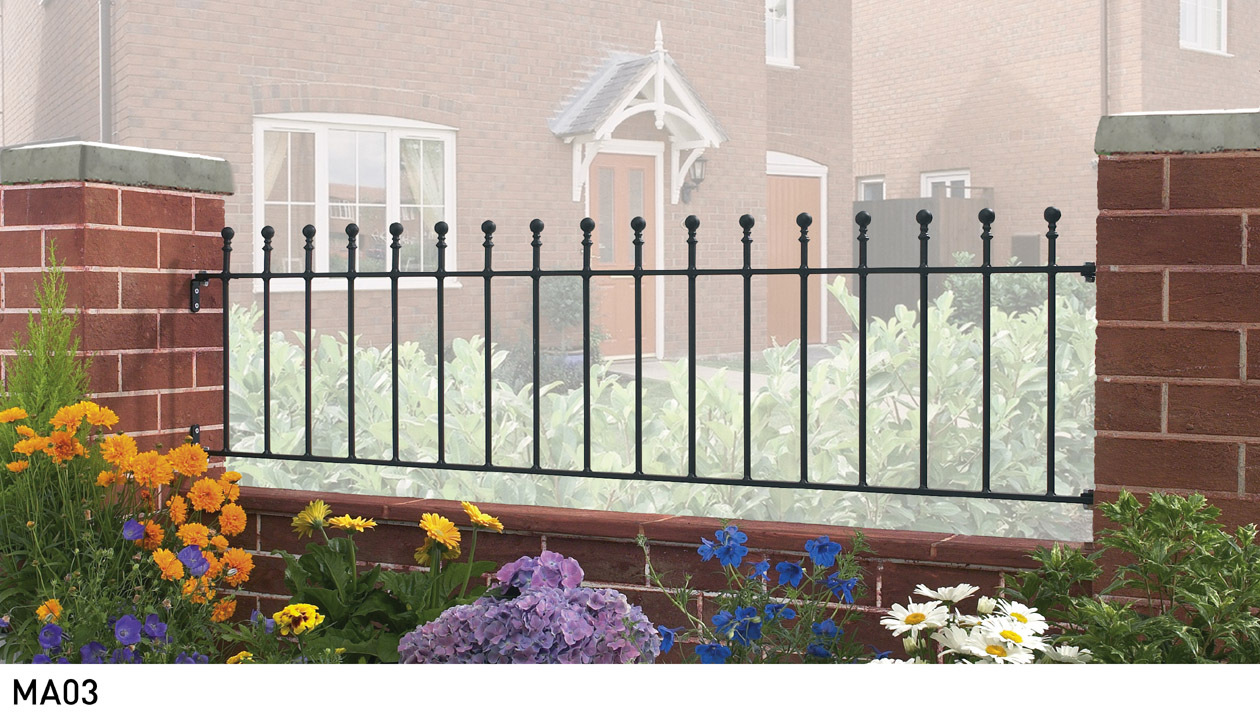 Manor Metal Railings
