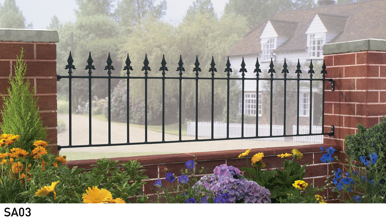 Saxon Metal Railings