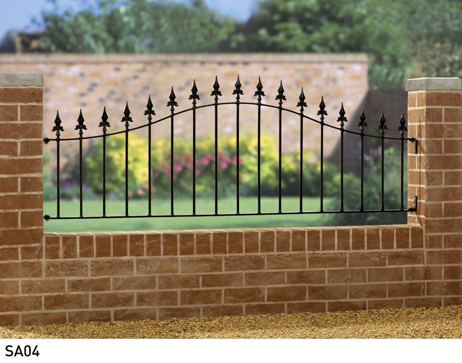 Saxon Arched Metal Railings