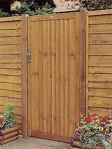 Closeboard Wooden Side Gate