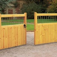How To Install Wooden Driveway Gates