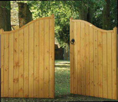 View Our Timber Estate Gates