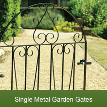 A Range of Metal Garden Gates