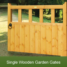 A Selection of Stunning Wooden Garden Gates